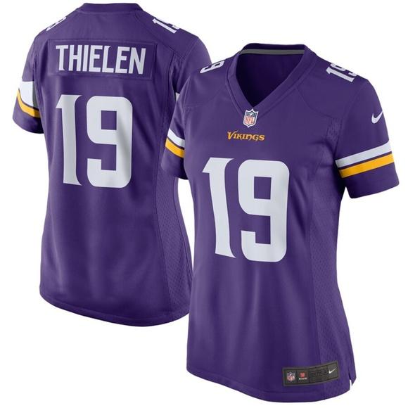 new concept 57bd8 5c032 Women's Minnesota Vikings Adam Thielen Jersey NWT